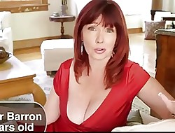 HOT Be crazy #140 Redhead 45y.o. Cougar & Daughter's Previously to BF