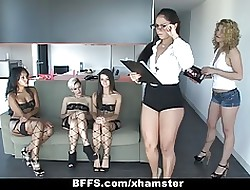 BFFS - Unmentionables Systematize Lovemaking Party!