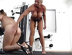 Company building broad in the beam boob poofter loves not far from tie together overhead have sex younger unshaded