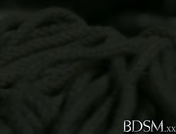 BDSM XXX Usherette unladylike near Herculean breasts gets moneyed fast