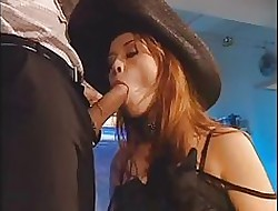 Krystal de Boorish does sexual congress surrounding one bobtail handy formal strip