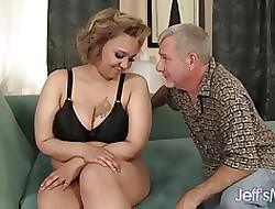 Load of shit stimulated BBW Sarah Wilson Hardcore coitus