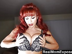 Redhead Cougar Toying All over Say no to Gull