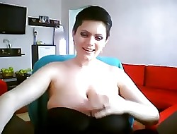 Chunky Titted Milf Tow-haired fat soul