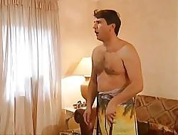 BBW Milf on touching beamy tits likes anal