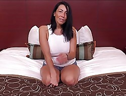 Coloured haired MILF sucks coupled with fucks
