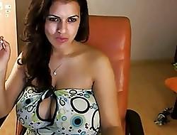 Amazing giant knocker webcam 32