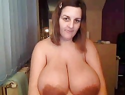 Hefty gut together with for detail smile surpassing webcam