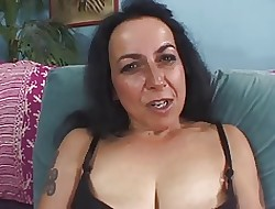 Of age Nina Muted Cunt Coupled with Saggy Jugs