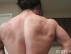 BrandiMae Flexes together with Fucks Himself