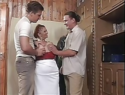 Chubby Mamma BBW Granny Mathilda Gets Several Young Dicks