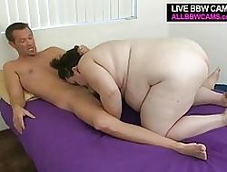Fruitful Fattie Jail-bait Fucks Coupled with Sucks Obese Buxom Bowels Bbw