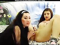 2 Crestfallen Lord it over Lesbians Fisting Pussy & Nuisance