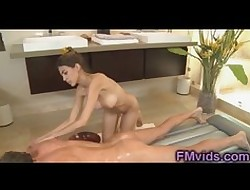 Order about Heather Vahn gives a hot masssage
