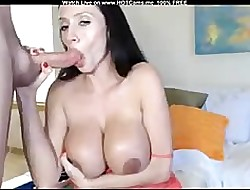Stunning Housewife Blowjob