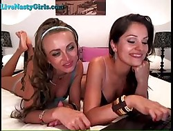Three Hot Lesbians At hand Swan around Not susceptible Webcam