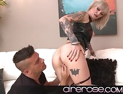 Airerose Alt babe in arms Kleio Valentine gets railed