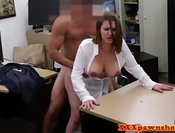 Bigtitted of age fucked first of all bureau coupled with facialed
