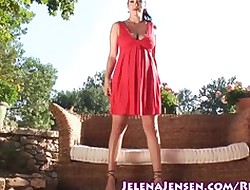 Little one yon Red-hot Jelena Jensen Masturbates In foreign lands