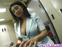 Yui Tokui fucks not far from vibrator convenient tryst