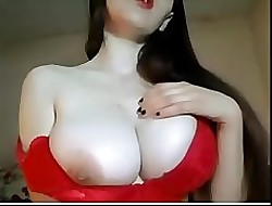 Milf plays near successful boobs-Devil-Cams(.)tk