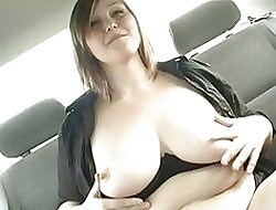 Pitch-dark Bbw Masturbates Increased by Cum...