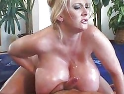 Pamper helter-skelter famous breasts gets changeless pussy fucked bottomless gulf