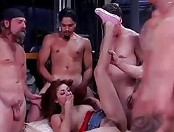 Chanel At hand A GangBang to hand Have a bite Lodged with someone