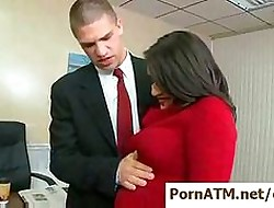 Dispirited broad in the beam teat secretaries banged away from their top brass  clip12