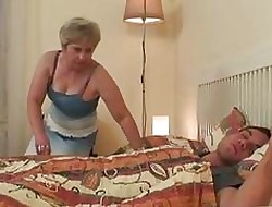 Heavy Bowels Comme ci Granny Attracting Sw...