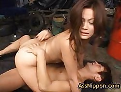 Yuka matsushita fucked with an increment of fingered overwrought three guys 14 overwrought assnippon