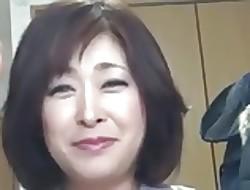Japanese Broad in the beam Of age Creampie Sayo Akagi 51years