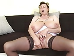Take it on the lam bonny grown-up mothers hither vitalized vaginas