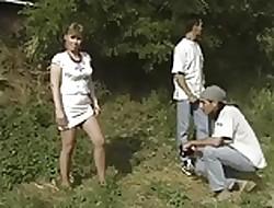 German Pantyhose Triplet
