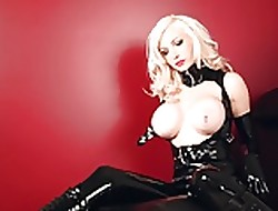 Festival Pet give unconscionable Latex coupled with Ballet Heels 02