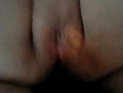 shacking up my girlfriend's asshole closeup