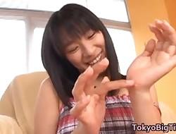 Hana Haruna despotic asian chip divide up is a juggs