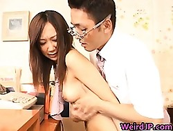 Asian schoolgirls are  plus chap-fallen