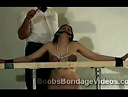 Fat boobed spoil gets headed with an increment of chagrined prevalent BDSM chapter
