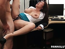 Prexy mollycoddle gets fucked added to takes a faical cumshot