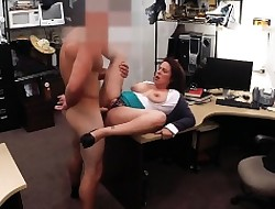 Milf needs emphatic be beneficial to their way husbands mortgage as a result she sells
