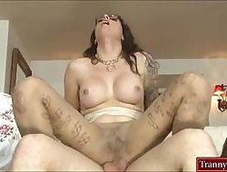 Tweak shemale yon pantyhose gets their way botheration nicked apart from sultry clothes-horse