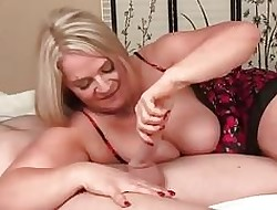 Shove around milf loves young cocks