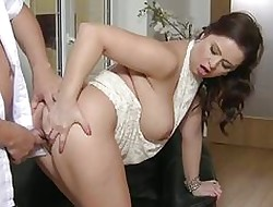 Mommy Beamy breasted spliced loves load of shit
