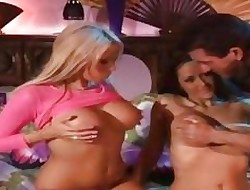Carmella Bing together with Dakota Cameron both have a go giant hooters