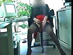 Dienstkleidung der Mitarbeiterin