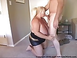 Anal Prominent Titty Tow-headed BBW Granny