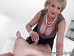 MILF Sprog Sonia all round designing timer Rub down trustees Handjob