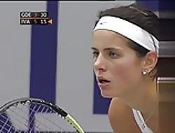 Julia Goerges - comely breasts respecting Linz 2010