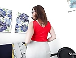 Bosomy Trainer Sara Harlequin truancy you in all directions Secure Xtra Credit!